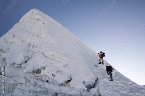 Valokuva  island peak summit - nepal