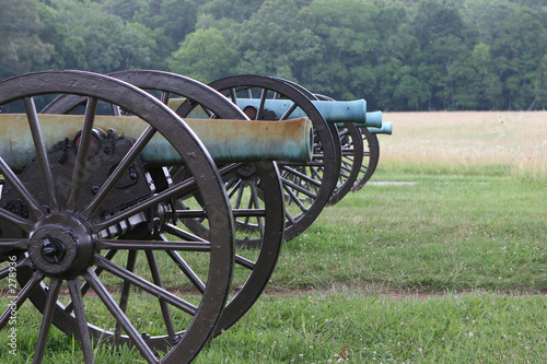 Fotografia civil war cannons