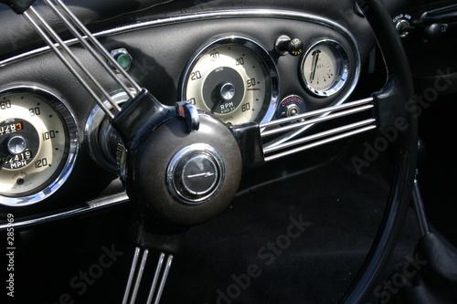 Keuken foto achterwand Vintage cars oldtimer-cockpit