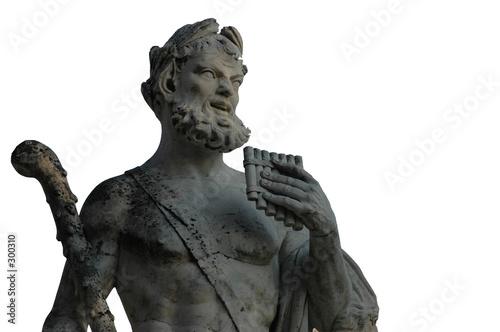 statue romaine détourée Canvas Print