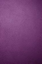Purple Leather - Macro