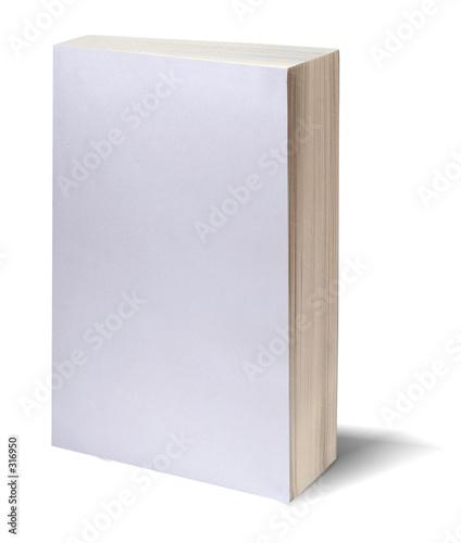 Fotografija blank white book w/path