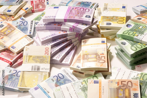 european currency - europäische währung Canvas Print