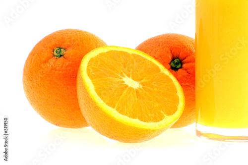 Fotografie, Obraz  Pomerančový džus