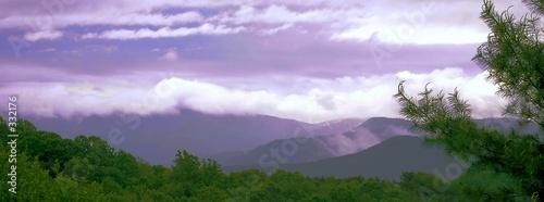 Obraz na plátně purple mountains majesty
