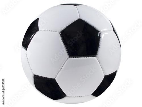 Deurstickers Bol soccer ball