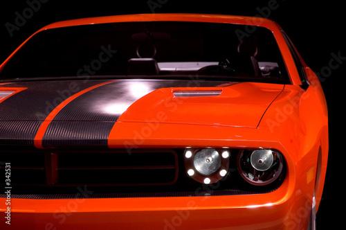 Deurstickers Snelle auto s concept muscle car