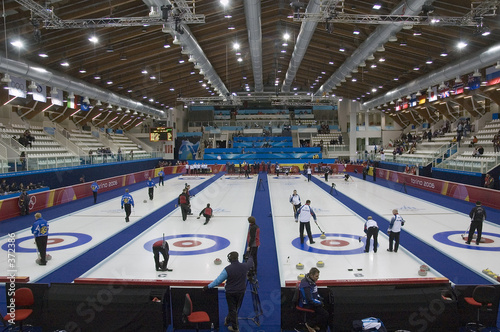 curling Fototapet