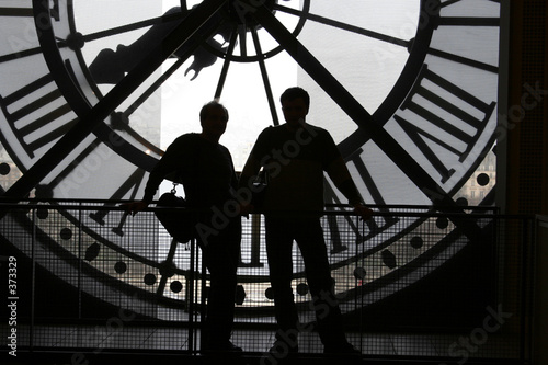 clock at the orsay museum Fototapet