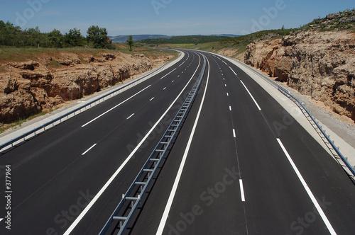 autoroute Canvas Print
