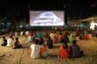 outdoor movie theatre thailand