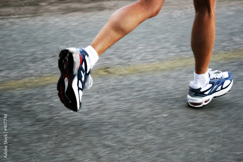 Fotografie, Obraz  running woman