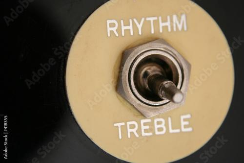 rhythm and treble 1 Canvas Print