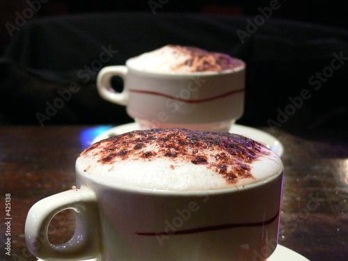 Foto op Plexiglas Chocolade chocolat chaud
