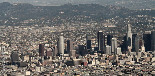 Foto auf Leinwand Los Angeles downtown los angeles and holywood
