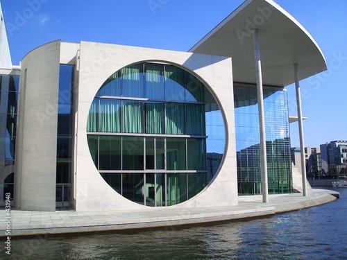 Staande foto Berlijn bundeskanzleramt berlin