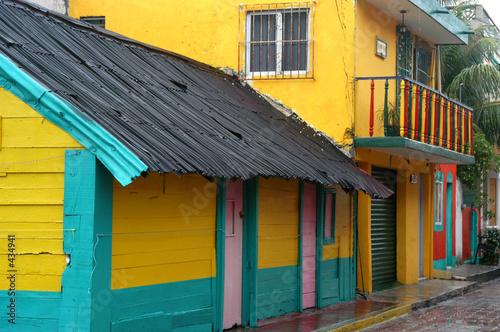 Fotografie, Obraz  colorful house in mexico