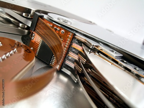 Fototapeta hard drive detail 1