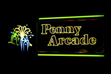 Penny Arcade Sign