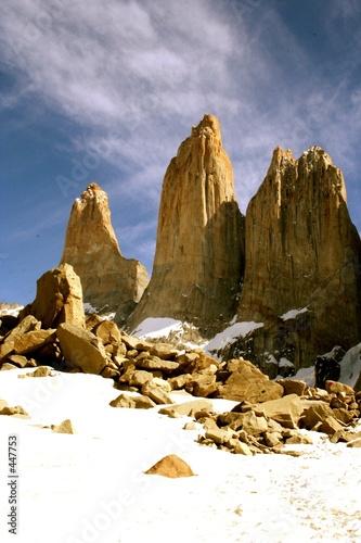 Foto-Vorhang - national park torres del paine (von Jose Luis Jimenez)