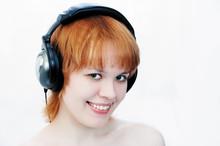 Girl In Head-phones