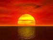 sunset render