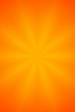 Orange Star Abstract Background