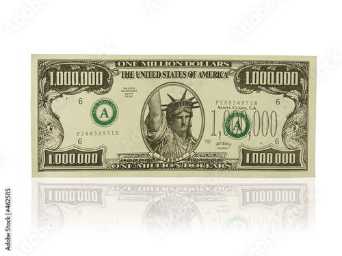 Photo one million dollars