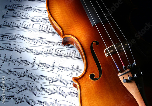 Obraz violin - fototapety do salonu