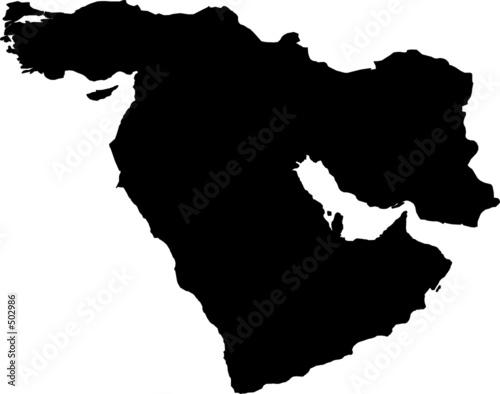 La pose en embrasure Moyen-Orient middle east