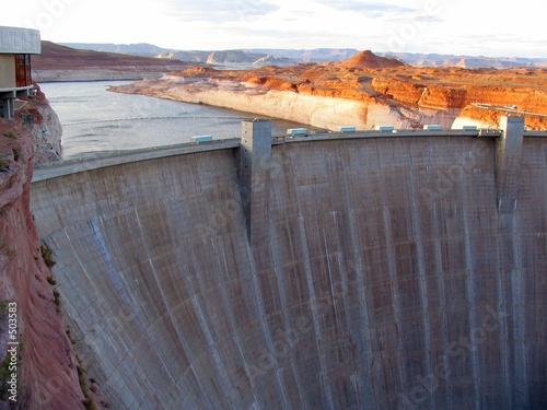 page glen canyon dam Canvas Print