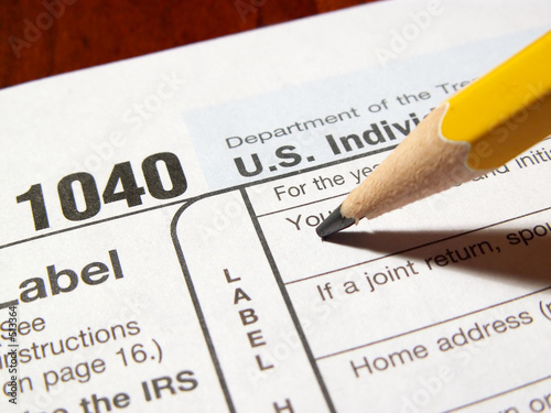 1040 Income Tax Form Buy This Stock Photo And Explore Similar