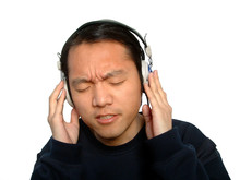 Listening Chinese Man