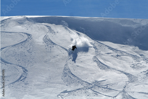 ski hors pistes Slika na platnu