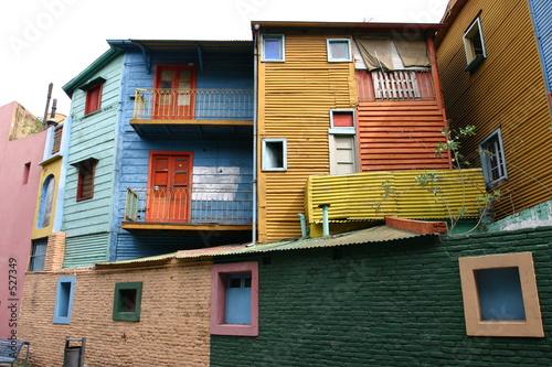 Deurstickers Buenos Aires quartier de la boca