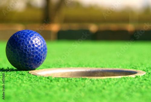 Poster Golf mini golf