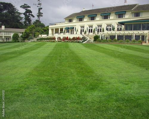 Vászonkép golf club pebble beach