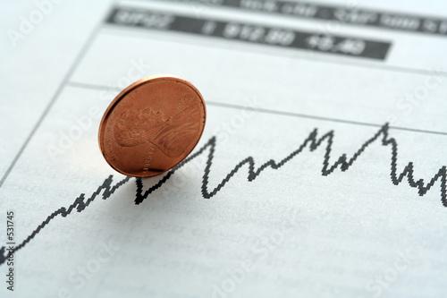 Fotomural  stock investment