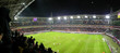 Leinwandbild Motiv panorama of football stadium