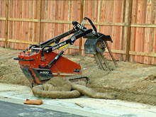 Construction Equipment Trencher
