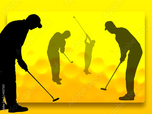 golf player Canvas-taulu