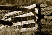 Broken Rail Fence