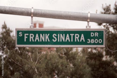 streetsign: frank sinatra drive Poster Mural XXL
