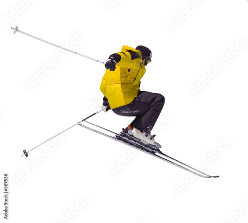 Cuadros en Lienzo skier jumping