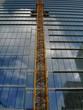 canvas print picture - tour en construction