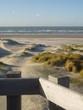 canvas print picture - dunes en france