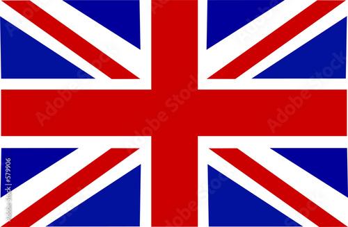 uk flag Canvas Print