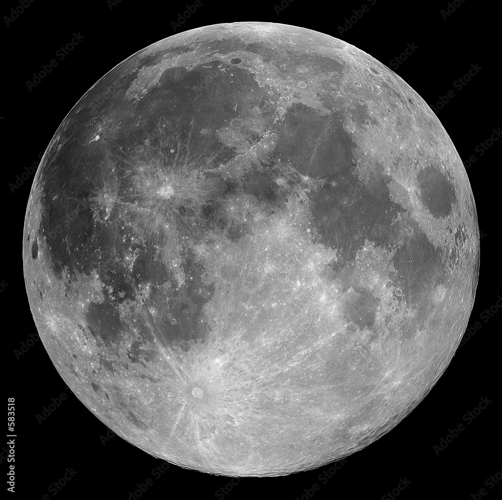 Foto-Rollo - full moon
