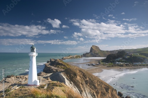 Fotografie, Tablou  lighthouse (castle point)