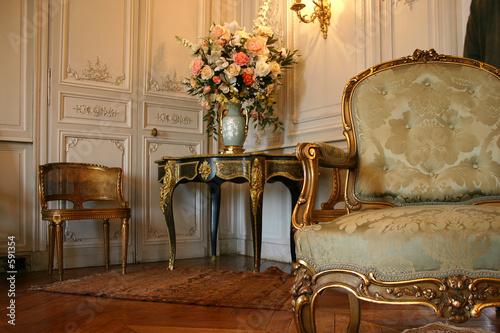 meuble décoration mobilier fauteuil Canvas Print
